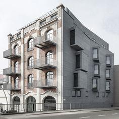 EQUITONE facade panels: Housing renovation Aalst