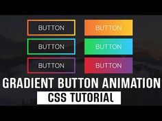 Gradient Button Animation | CSS Hover Effects | Pure CSS Tutorial. - YouTube Button Animation, Animate Css, Html Css, Coding, Buttons, Pure Products, Youtube, Computers, Software