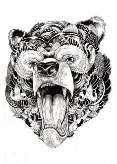 Iain Macarthur 2 Surreal Animal Illustrations, Iain Macarthur Art Gallery