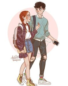 cartoon art anne and gilbert from anne with an e November 21 2019 at Cartoon Kunst, Cartoon Drawings, Cute Drawings, Gilbert And Anne, Anne White, Anne With An E, Anne Shirley, Cartoon Art Styles, Cartoon Fan