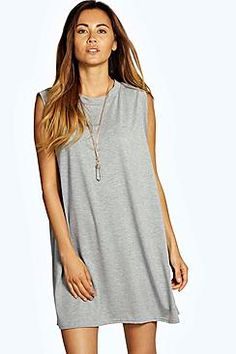 Freya Drop Armhole T-Shirt Dress