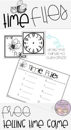 Math tubs are planned for the next 2 weeks! This time game is my students' favorite. This can be played with any grade in mind! Math Games, Math Activities, Telling Time Games, First Grade Themes, Guided Math Groups, Time To The Hour, Math Tubs, Balanced Literacy, Second Grade Math