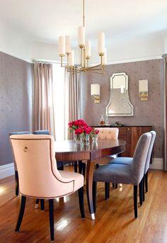 Ideas para decorar una mesa de comedor redonda