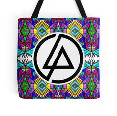 Linkin Park Trippy Pattern by Shawn Ballard. For sale on many different products via redbubble.