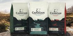 Canagan Cat Food Free Run Chicken - Scottish Salmon or Country Game Coffee Packaging, Food Packaging, Brand Packaging, Design Packaging, Branding Design, Cat Food Coupons, Scottish Salmon, Grain Free Dog Food, Food Recalls