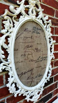 Themed Furniture Makeover: Words and Letters! Painted Picture Frames, Furniture Makeover, Letters, Mirror, Words, Diy, Bricolage, Mirrors, Letter