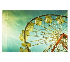 """Hall 2 Artwork:  County Fair by Cindy Taylor, 42"""" x 28"""", Matted, Distressed Espresso Frame  $199/ea"""