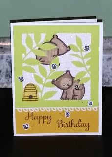 "These 2 Flora & Flutter Paper Pumpkin alternatives are designed for the younger crowd. The ""leaf"" mats were from the kit. The Pandas we. Birthday Cards, Happy Birthday, Some Cards, Paper Pumpkin, Paper Background, Stamping Up, Flora, Card Making, Paper Crafts"