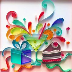 quilling for kids Paper Quilling Tutorial, Paper Quilling Cards, Quilled Paper Art, Paper Quilling Designs, Quilling Patterns, Diy Paper, Paper Crafts, Diy Crafts, Neli Quilling