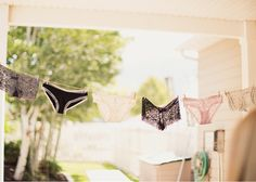 Alixann Loosle Photography: Bridal Shower Pantie Line :)
