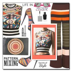 """""""Mixing!"""" by shoaleh-nia ❤ liked on Polyvore featuring Givenchy, Giuseppe Zanotti and River Island"""