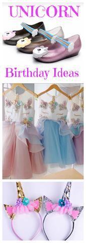 Unicorn Girl Birthday Dress