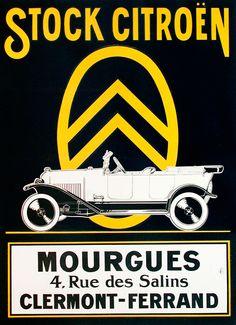 Stock Citroen (1920 ca.)