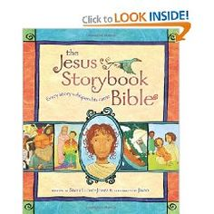 A blogger wrote: We've searched high and low for quality children's Bible story books — ones that are accurate, doctrinally sound, and not filled with nonsense and fluff are hard to find. I apprehensively ordered The Jesus Storybook Bible based upon the strong recommendations of friends I trust. It has since become our most treasured read-aloud. The girls would pick this over any other book any day.