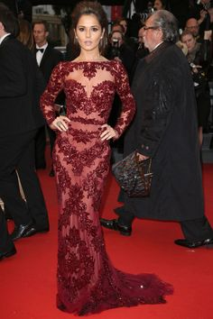 Cheryl Cole Goes For A Stunning Zuhair Murad Gown At Cannes Film Festival, 2013