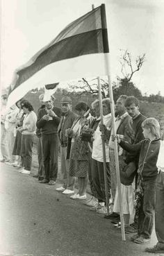 On 23 August 1989, two million people held hands to form a human chain over 600 km long linking three capital cities – Vilnius in Lithuania, Riga in Latvia and Tallinn in Estonia. This peaceful political demonstration became known as 'The Baltic Way'. Now, the Europeana 1989 project is asking people to join together again to recreate the longest human chain in history.