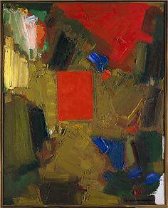 Profound Longing / Hans Hofmann/ 1965 / Oil on canvas