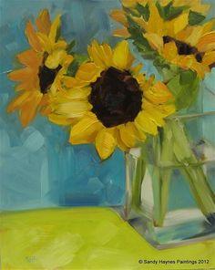 """With Lime, please"" - Original Fine Art for Sale - © Sandy Haynes"