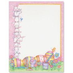 244 Best Easter Bunny Letters Images On Pinterest In 2018 Easter