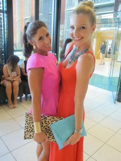 love the pink dress #LANA WILKINSON Stylist
