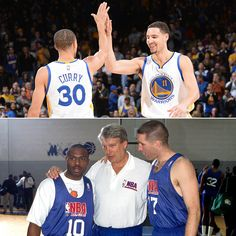 The last time the #Warriors had two All-Star selections, Klay Thompson was 3 years old (Tim Hardaway & Chris Mullin in '93). #SplashBrothers #TBT