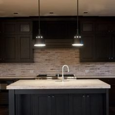 Kitchen built by Cameo Homes Inc. in Park City, Utah