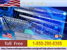 Gmail Help +1-850-290-8368 which is serviceable 24 hours a day in every part across the nation and around the world. Hence, whenever you, as a Gmail user, ever come across any real-time Gmail problems or hurdles then you need to use the freephone service rather to sit like a couch potato or going here or there. For more On information visit our website: http://www.mailsupportnumber.com/gmail-help-phone-number.html