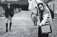 Alice Dellal Returns In The New Chanel Boy Bag Campaign: http://fashionide.com/alice-dellal-spring-summer-2013-chanel-boy-bag-ad-campaign/
