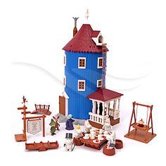 moomin House for C Moomin House, Tove Jansson, Dollhouse Toys, Nordic Design, Kidsroom, Interior Accessories, Childhood Memories, Barn, Dolls
