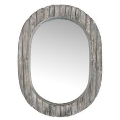 Olivia Wall Mirror in Gray