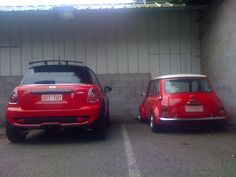 The Mini .and the BMW Car that goes by the same name.. not really a mini is it ?