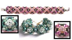"""Beading4perfectionists: """"Be Mine for Valentine"""" bracelet with RounDuo be..."""