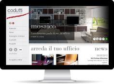 Sito web dinamico multilingue per l'azienda Codutti, leader nel settore degli arredamenti per ufficio, orgoglio del Made in Italy.  Visita il sito http://www.codutti.it/ e mandaci il tuo parere.