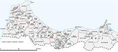 Mapas del Protectorado español en Marruecos. Marc Jiménez Buzzi.