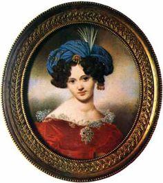 Графиня Варвара Петровна Шувалова-Полье (Шаховская), жена Павла Андреевича Шувалова, потом жена Адольфа Полье