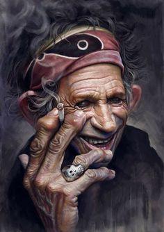 """"""" Il difficile non è vivere per sempre, ma convivere con se stessi per l'eternità.""""  ( Keith Richards )"""