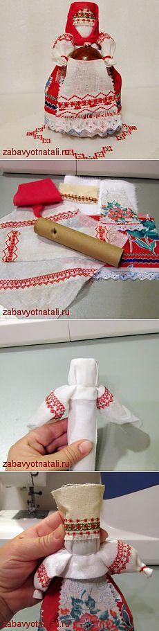 Народная кукла на основе | Забавы от Натальи