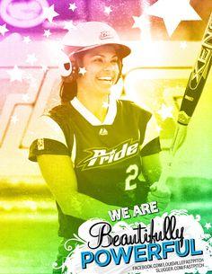 Jessica Mendoza being Beautifully Powerful! Jessica Mendoza, Louisville Slugger, Fastpitch Softball, Athletes, Life