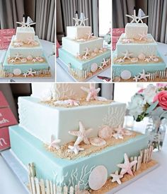 Sea Wedding Cake