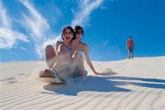 Honeymoon idea: Sandboarding (Cape Town, South Africa)