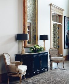 Grand Country Foyer | photo Michael Graydon | design Barbara Purdy | House & Home