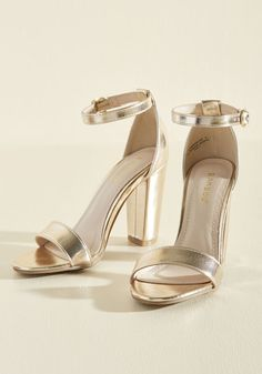 Steve Madden Stecy Two Part Bronze Sandals | prom | Steve