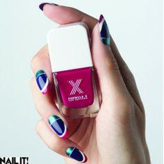 Fun colorblock! // #FormulaX by Natalie Minerva