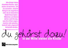 Kinderrechte Postkarte 2012