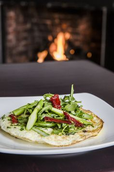 Rustic flatbread fireside at Chatham Wine Bar and Restaurant #flatbread #capecod