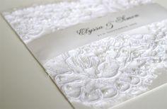 I like - Lace invitation