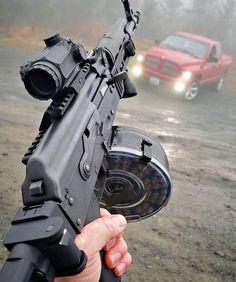 Military Weapons, Weapons Guns, Guns And Ammo, Ak 47, Armas Wallpaper, Armas Ninja, Homemade Weapons, Battle Rifle, Home Defense