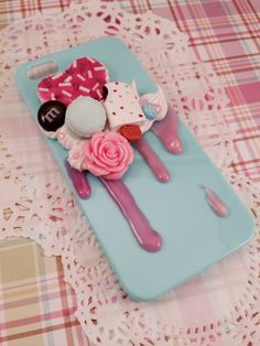 Sweet and Simple Kawaii Deco Treats Decoden Case by Lucifurious, $20.00