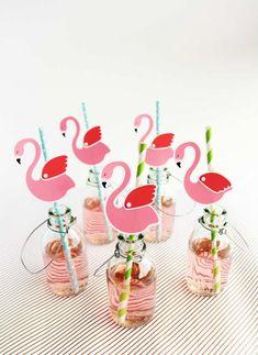 Nifty flamingo printable | 10 Fabulous Flamingo DIYs- Tinyme Blog