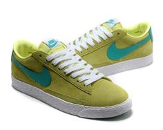 finest selection 7fc64 a48ac Buy Nike Blazer Low Premium Vintage Suede Womens Green Shoes from Reliable Nike  Blazer Low Premium Vintage Suede Womens Green Shoes suppliers.
